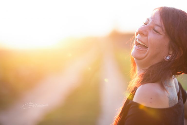 Laughing in the Sun